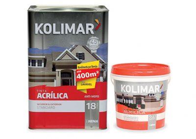 Tinta Acrílica Standard Kolimar