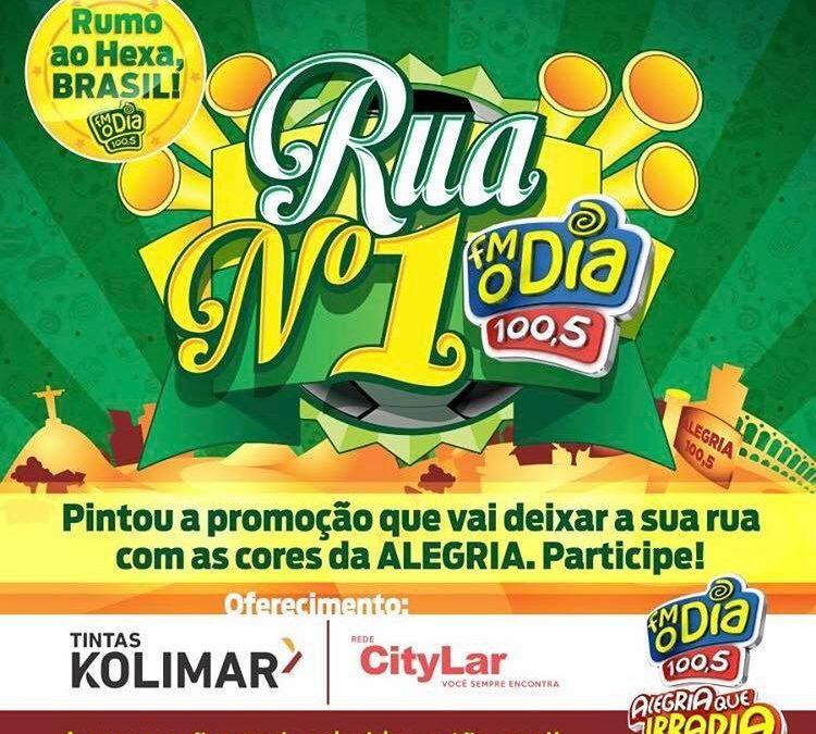 Kolimar pinta a rua número 1 do Rio!